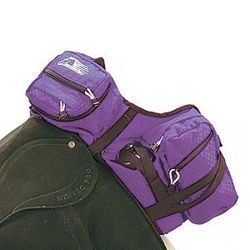 Performance Equestrian Stowaway Deluxe Pommel Saddle Pack